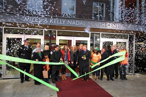 Grand Opening of The Miles and Kelly Nadal Youth Centre